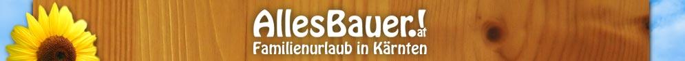 Logo Alles Bauer · Familienurlaub in Kärnten · zurück zur Startseite